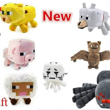 Minecraft Stuffed Plush Toy Game Roles Model Cartoon Toys Doll Kids Children Festival Gift High Quality
