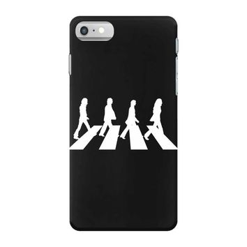 beatles white logo rock band legend iPhone 7 Case