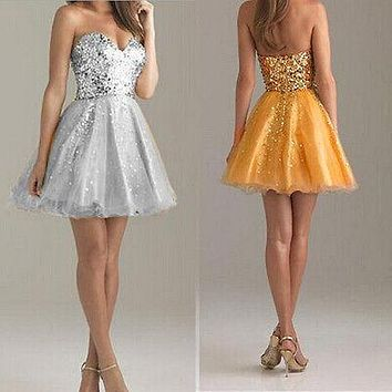 Best Gold Sequin Dress Products On Wanelo