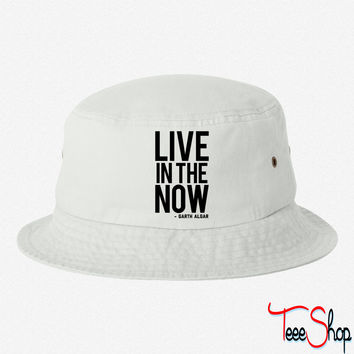 Live In The Now 2 bucket hat