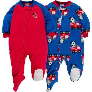 Gerber Toddler Boys 2 Pack Sleeper 5T