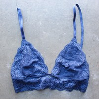 triangle lace bralette (+ colors)