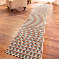 Extra-Long Nonslip Striped Runners