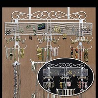Organizing Jewelry Valet (White) (14.5