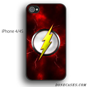 THE FLASH LOGO SCARLET SPEEDSTER case for iPhone 4[S]