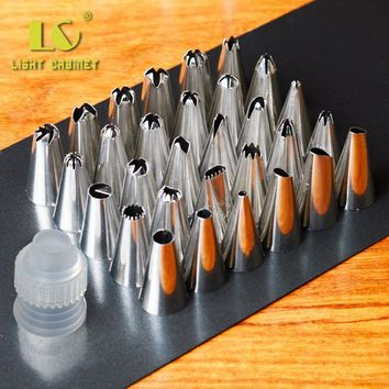 Beautiful Flowers Nozzles Tips Decorating Pen Cupcake Sugarcraft Cake Decorating Tools Icing Tip Nozzles Bakeware Z5220