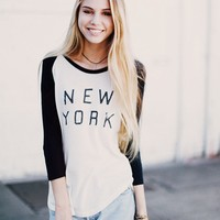 CARLEY NEW YORK TOP