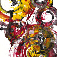 Contemporary Art - Abstract Painti.. on Luulla