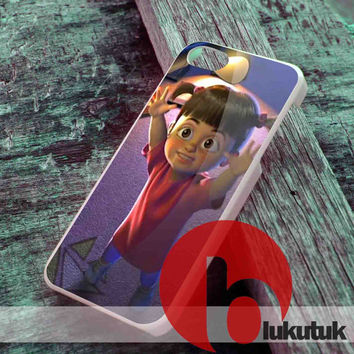 Available iPhone 4/4S,5/5S, 5C and Samsung S3, S4 Rubber Case, Hard Plastic Case - Boo Monster Inc