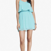 RUFFLED CAMI DRESS from EXPRESS