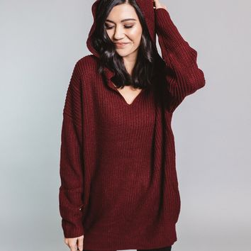 Camie Hooded Sweater
