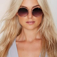 Spitfire Poolside Rounded Shades - Purple