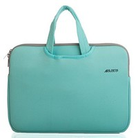 Mosiso Water-resistant Neoprene 13-13.3 Inch Laptop Briefcase Sleeve - Hot Blue