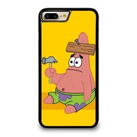 PATRICK STAR SPONGEBOB iPhone 4/4S 5/5S/SE 5C 6/6S 7 8 Plus X Case