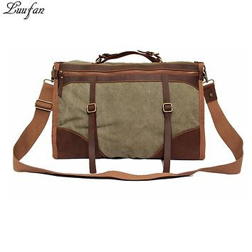 Large Capacity Canvas Leather Travel bags men women Carry On Tote Travel Duffel High Quality Big solid Weekend Luggage Bag