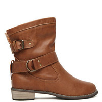 Westia Buckle Ankle Boots