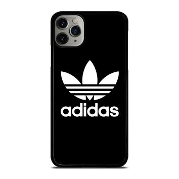 ADIDAS LOGO BLACK WHITE iPhone Case Cover