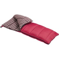 Wenzel Cardinal 30-Degree Sleeping Bag (Red)