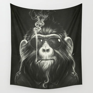 Smoke 'Em If You Got 'Em Wall Tapestry by Dr. Lukas Brezak