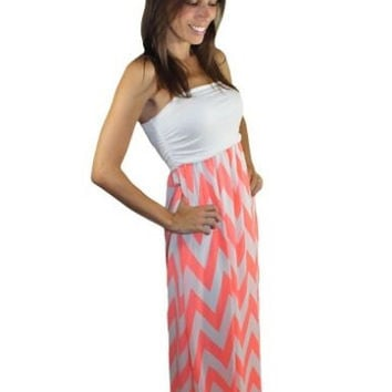 Best White Chevron Maxi Dress Products on Wanelo