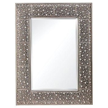 Murray Feiss Danby Rustic Silver Mirror - MR1175RUS