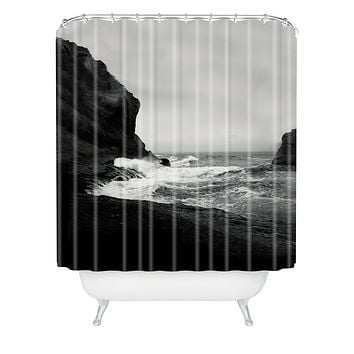 Leah Flores Ocean 1 Shower Curtain