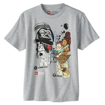 Boy's Youth Star Wars EMPIRE VS. JEDI T-Shirt NWT Licensed & Official
