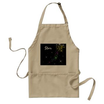 Christmas Star Adult Apron