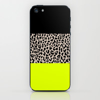 Leopard National Flag V iPhone & iPod Skin by M Studio
