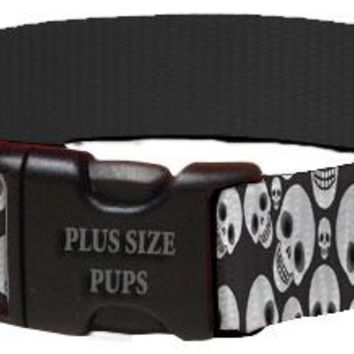 Halloween Dog Collar - Skull Heads