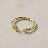 Sherwood Ring by Anthropologie Gold One Size Jewelry