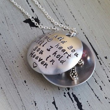 I'll Hold You In My Heart, Until I Hold You In Heaven Key Chain/Necklace