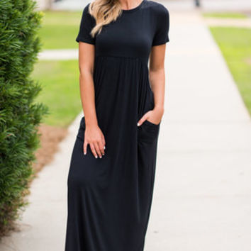 Such A Legend Maxi Dress, Black