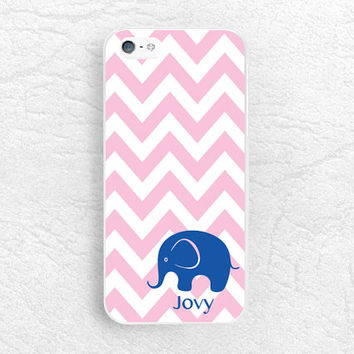 Monogram Elephant phone case for Sony z1 z2 z3 compact, Moto g g2 x x2, HTC one m7 m8, Nokia lumia, chervon personalized custom name case