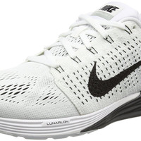 Nike Men's Lunarglide 7 White/Black Running Shoes 747355 100