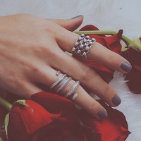 All Wound Up Ring by Natalie B Jewelry