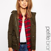 New Look Petite Parka at asos.com