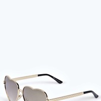 Lucy Love Heart Sunglasses