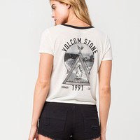 VOLCOM Summer Of 91 Womens Ringer Tee | Graphic Tees