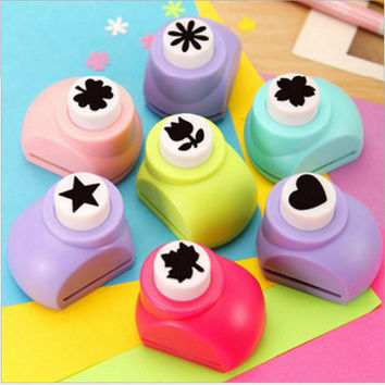 New Printing Paper Hand Shaper Scrapbook Tags Cards Craft DIY Punch Cutter Tool