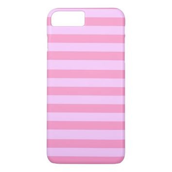 pretty pastel stripes iPhone 7 plus case