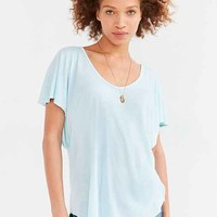 Truly Madly Deeply Farrah Flutter-Sleeve Top