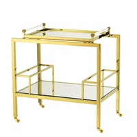Gold Bar Cart | Eichholtz Majestic