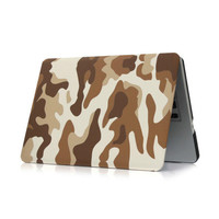Camouflage protective case for Macbook Laptop case cover shell for macbook air 11 13 pro 13 15 pro 12 retina 13 15