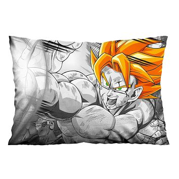DRAGON BALL GOKU SUPER ART Pillow Case Cover Recta