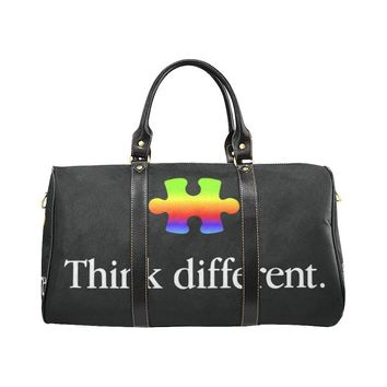 Autism Design 24 Travel Bag Black