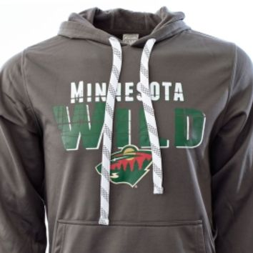 Levelwear Men's Minnesota Wild Charcoal Sideline Lace Hoodie | DICK'S Sporting Goods