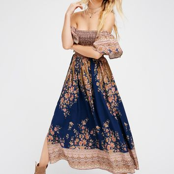 Free People Louisa Midi Dress