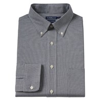 Croft & Barrow True Comfort Slim-Fit Micro-Checked Oxford Easy-Care Stretch Button-Down Collar Dress Shirt - Men, Size: