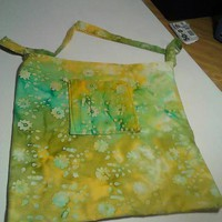 Spring Batik Tote from Wild Ivy